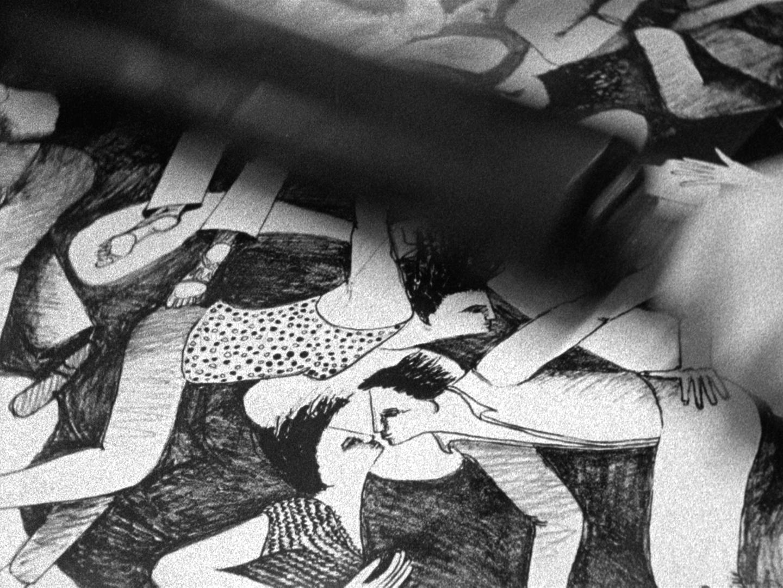 Photogramme tiré du film en 16mm Talco Y Goma,